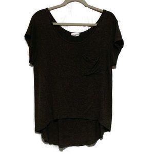 Zenana Outfitters Dark Tee Shirt Women Large Top